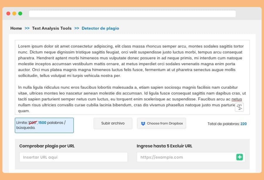 Detector de plagio gratis y online para comprobar que un texto es original