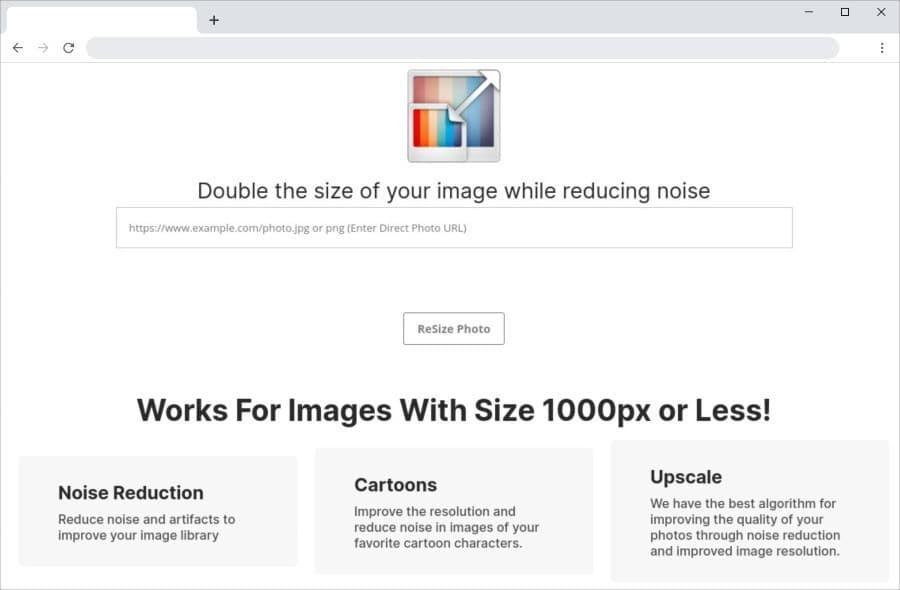 Duplicar las dimensiones de las imágenes manteniendo su calidad