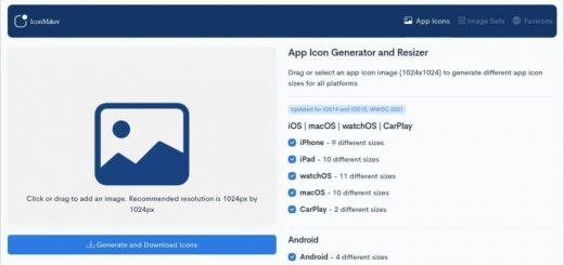 Generador de iconos para apps