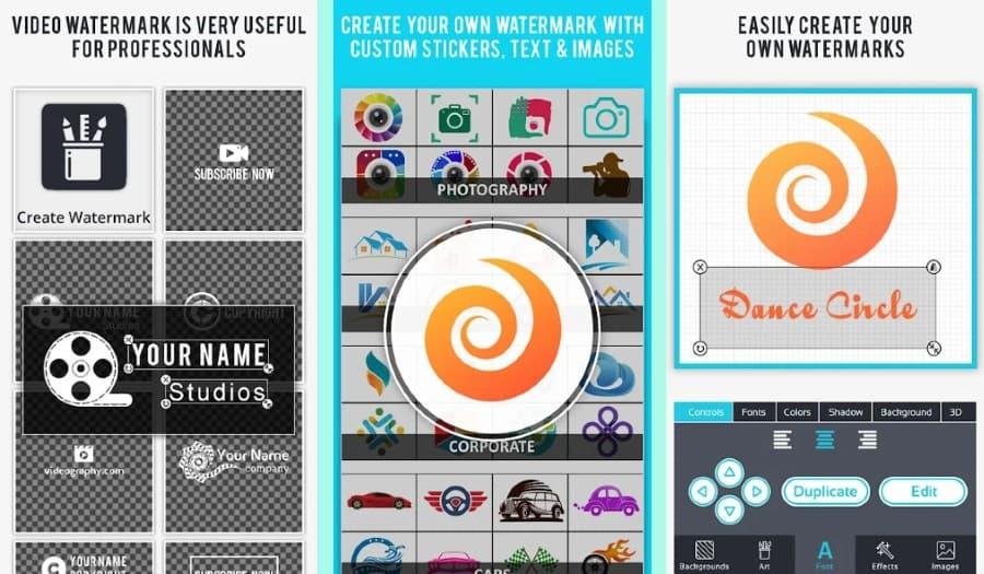 Video Watermark: añadir marcas de agua a tus vídeos desde Android