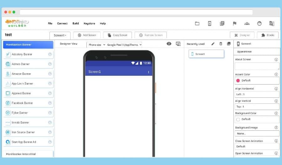 Android Builder: plataforma gratuita para crear apps Android fácilmente