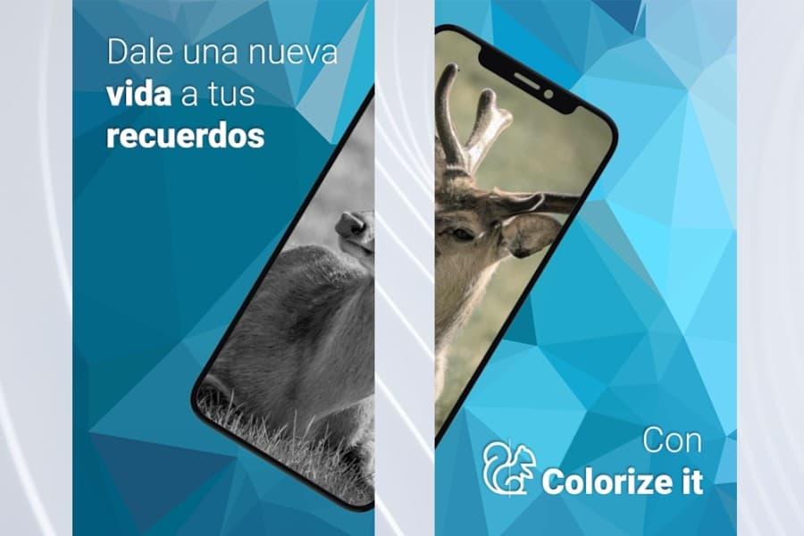 Colorize it: una app para colorear fotos en blanco y negro en tu Android