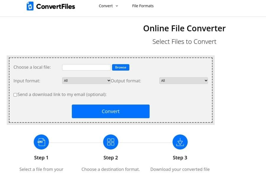 ConvertFiles: un convertidor online y gratuito para todo tipo de archivos