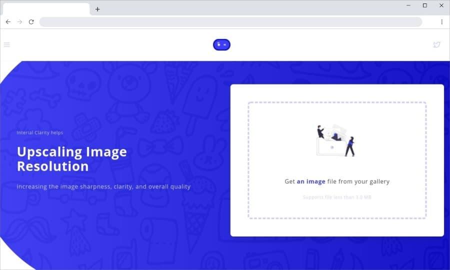 Interial Clarity: web gratuita para aumentar la resolución de tus imágenes