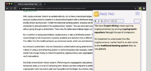 Page Pad